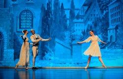 Het huis van Shug Tal Bam Front Gate-The Ballet Nutcracker stock fotografie