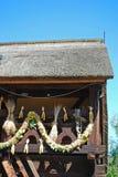 Het huis van Spreewald Stock Afbeeldingen