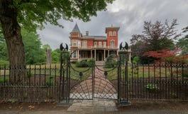 Het huis van Stephen King ` s in Bangor, Maine royalty-vrije stock afbeelding