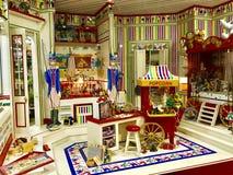Het huis van het stuk speelgoed royalty-vrije stock foto's