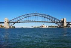 Het Huis van Sydney Harbour Bridge en van de Opera Stock Afbeeldingen
