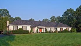Het Huis van Sytle van de boerderij Royalty-vrije Stock Afbeeldingen