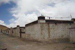 Het huis van Tibet Royalty-vrije Stock Foto's