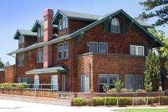 Het huis van Torreypijnbomen - Coronado, San Diego de V.S. stock afbeelding