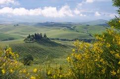 Het huis van Toscanië Royalty-vrije Stock Afbeeldingen