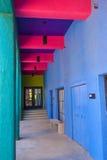 Het huis van Tucson Adobe stock afbeeldingen
