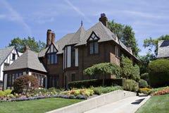 Het Huis van Tudor Royalty-vrije Stock Afbeelding