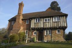 Het huis van Tudor Stock Foto's