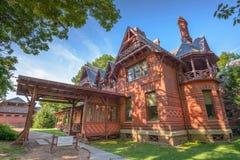 Het Huis van Twain van het teken Stock Afbeeldingen