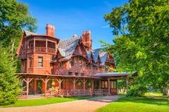Het Huis van Twain van het teken Stock Afbeelding