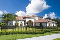 Het huis van Upscale Royalty-vrije Stock Fotografie