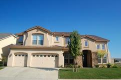 Het Huis van Upscale in Californië Royalty-vrije Stock Fotografie