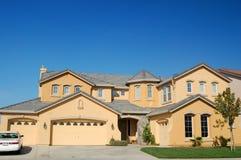 Het Huis van Upscale in Californië Stock Afbeelding