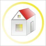 Het huis van uw dromerig! royalty-vrije stock afbeeldingen