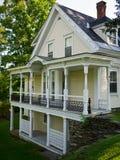 Het Huis van Vermont van Woodstock Stock Foto's