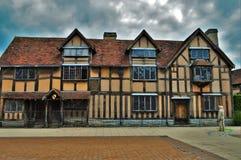 Het Huis van William Shakespeare's Stock Afbeeldingen