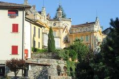 Het huis waar de beroemde schrijver Hermann Hesse leefde Royalty-vrije Stock Foto