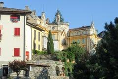 Het huis waar de beroemde schrijver Hermann Hesse leefde Royalty-vrije Stock Afbeelding