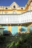 Het huis waar de beroemde schrijver Hermann Hesse leefde Stock Foto's