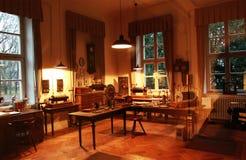 Het huis waarin de Röntgenstraal geboren was Stock Fotografie