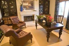 Het huisbureau van de luxe Royalty-vrije Stock Foto