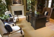 Het huisbureau van de luxe. Royalty-vrije Stock Fotografie