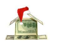 Het huisconcept van de dollar Stock Afbeeldingen