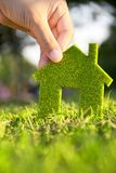 Het huisconcept van Eco royalty-vrije stock afbeeldingen