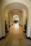 Het huisgang van de luxe. royalty-vrije stock afbeeldingen