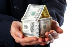 Het huisgeld Royalty-vrije Stock Afbeelding