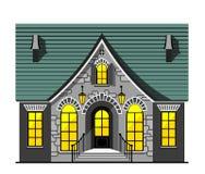 Het huisillustratie van Nice Stock Foto