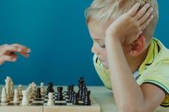 Het huisonderwijs van kinderen stock afbeeldingen
