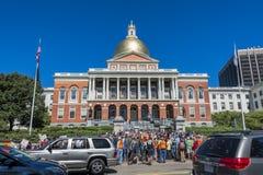 Het Huisprotest van de Staat van Massachusetts Stock Foto's