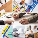 Het huisverbetering en vernieuwing stock foto's