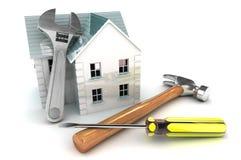 Het huisverbeteringen vector illustratie