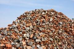 Het huisvuil van de bouw Stock Fotografie