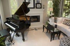 Het huiswoonkamer van de luxe Royalty-vrije Stock Fotografie