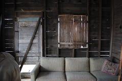Het huiswoonkamer van de spookstad Royalty-vrije Stock Foto