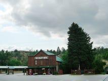 Het Hulett-Motel, Hulett, Wyoming royalty-vrije stock fotografie