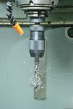Het hulpmiddel van de boor van CNC machine Royalty-vrije Stock Afbeelding