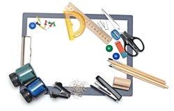 Het hulpmiddel van het bureau en van de student Royalty-vrije Stock Foto's