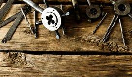 Het hulpmiddel voor knipsel van het snijden en boor Stock Fotografie