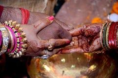 Het huwelijk stock afbeelding