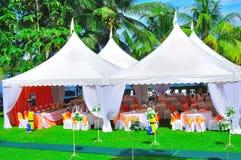 Het huwelijk en de partij van de tuin Royalty-vrije Stock Foto