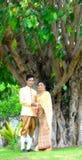 Het huwelijk huwt paren royalty-vrije stock foto's