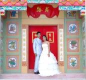 Het huwelijk huwt paren stock afbeeldingen