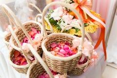 Het huwelijk van bloemen Stock Foto's