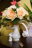 Het huwelijk van bloemen Stock Fotografie