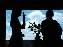 Het Huwelijk van de gebarentaal Royalty-vrije Stock Afbeeldingen