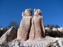 Het huwelijk van de steen Stock Foto